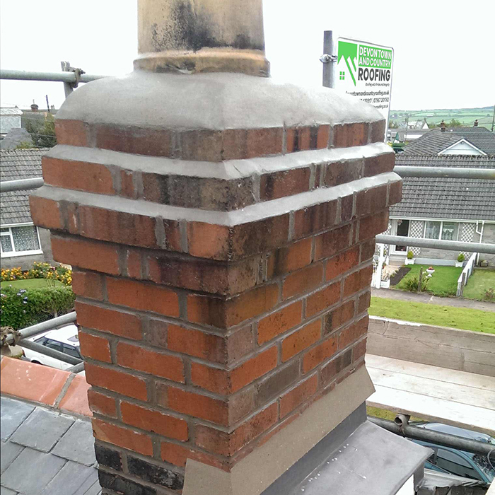 Chimney Repointing by Devon Town & Country Roofing